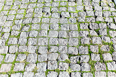 Square stone pavers