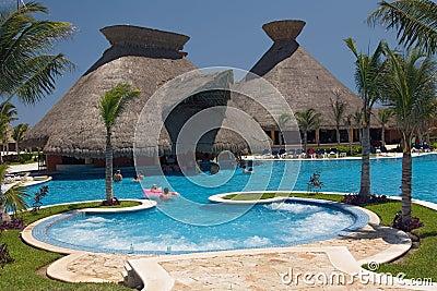 Most Meksyku basen widok