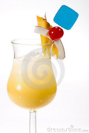 Most popular cocktails series - Pina Colada