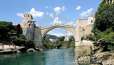Mostar - the Old Bridge (Stari Most)