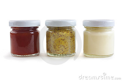 Mostarda, Mayo e molho