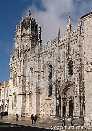 Mosteiro dos Jeronimos Editorial Image