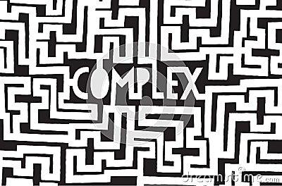 Mot complexe l 39 int rieur d 39 un labyrinthe chaotique for Photo dinterieur mots croises