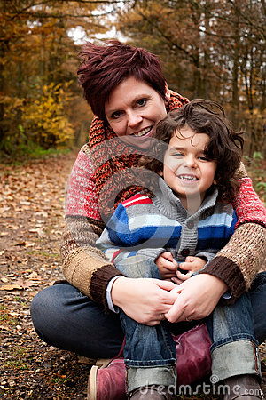 Free Mothe And Her Son Royalty Free Stock Image - 28294536