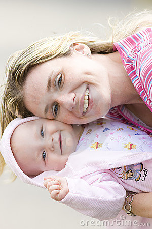 Free Mother And Baby Stock Photography - 10093872