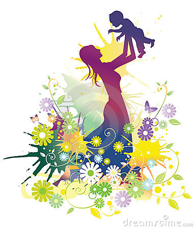 Free Mother And Baby Stock Image - 10954231
