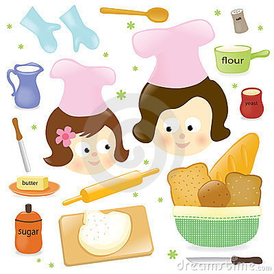 Free Mother And Daughter Baking Royalty Free Stock Photo - 23426335