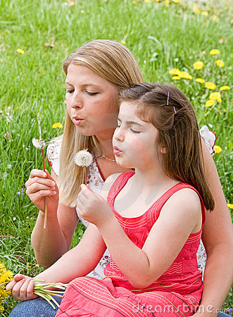 Free Mother And Daughter Together Stock Photo - 5071770
