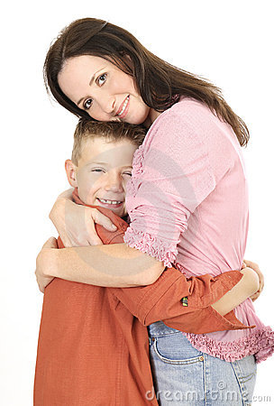 Free Mother And Son 2 Stock Image - 485161
