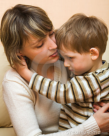 Free Mother And Son Stock Image - 5005251