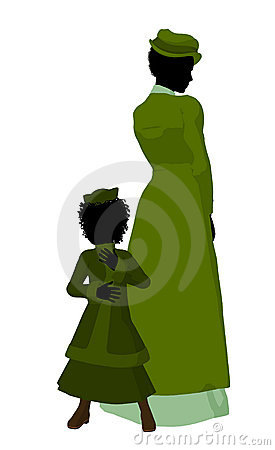Mother And Child Art Illustration