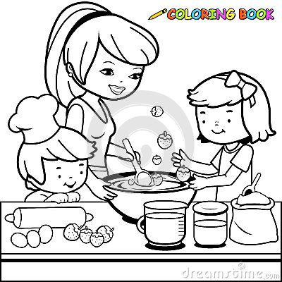 Kids Cooking Coloring PagesCookingPrintable Coloring Pages Free