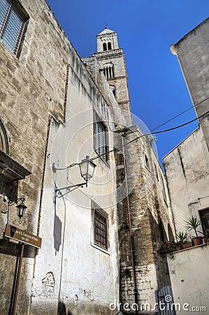 Mother Church. Palo del Colle. Apulia.
