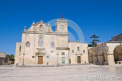 Mother Church of St. Giorgio. Melpignano. Puglia.
