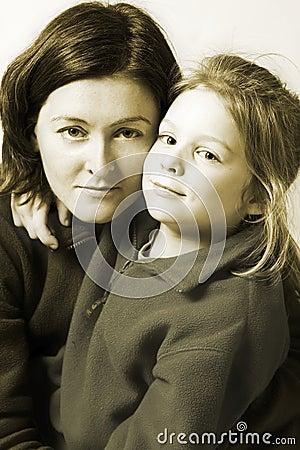 Mother and daughet