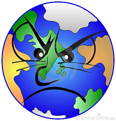 Mother earth is depressed