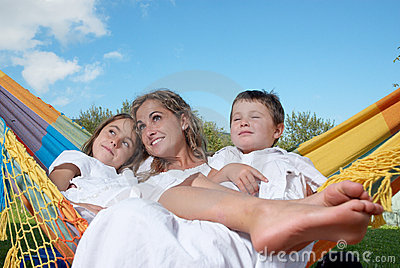 Mother and family