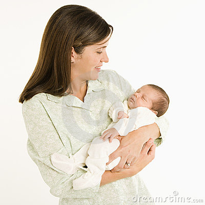 Free Mother Holding Baby. Royalty Free Stock Images - 2771829