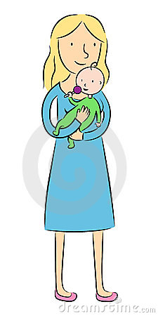 Mother Holding Her Baby Royalty Free Stock Photo Image 20488015
