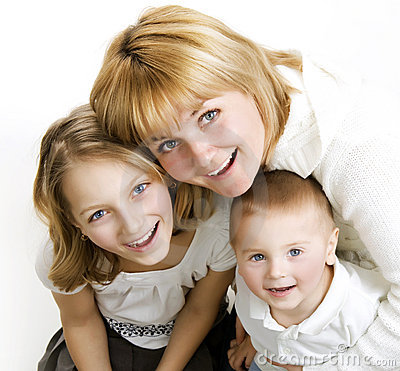 Mother with Kids