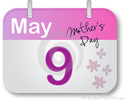 Mother s Day Calendar Page