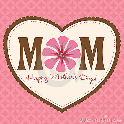 Free Mother S Day Card/Poster Royalty Free Stock Image - 10325766