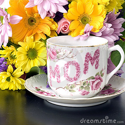 Free Mother S Day Flowers Square Royalty Free Stock Image - 4750536