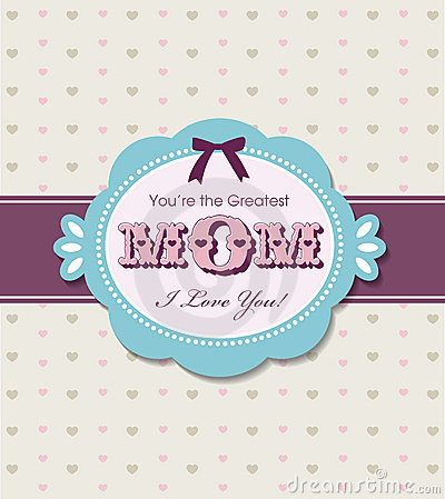 Free Mother S Day Greeting Card Stock Photography - 19935502