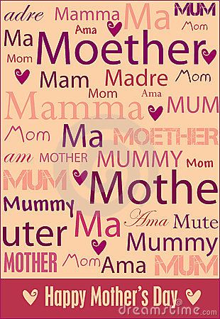 Free Mother S Day Poster Royalty Free Stock Photos - 8679098