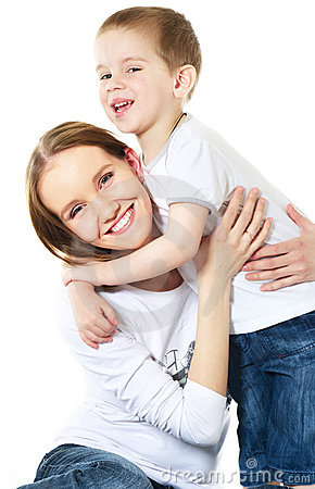 Mother And Son Stock Photography - Image: 10353362