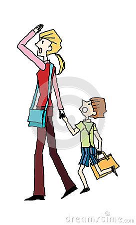 Mother With Son Royalty Free Stock Photo - Image: 27828775