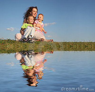 Free Mother With Children Stock Photo - 1167850