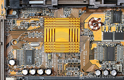 Motherboard heat sink