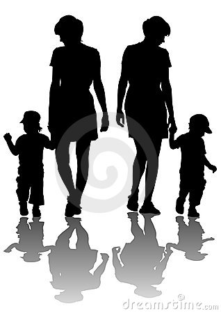 Mothers with children