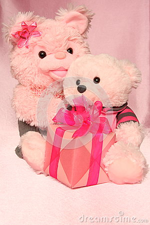 Mothers Day Card : Teddy Bears Image - Stock Photo