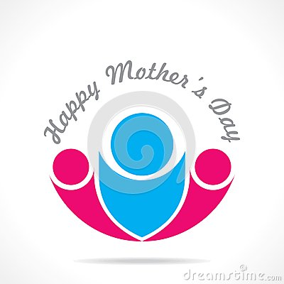 Mothers day icon design