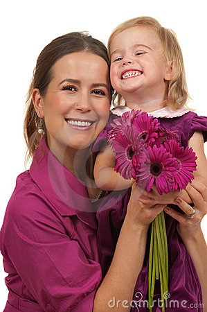Free Mothers Day Or Birthday Gift Stock Photos - 16708033