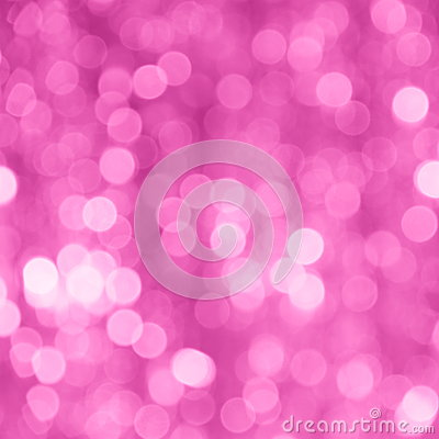 Mothers Day Pink Blur Background - Stock Photo