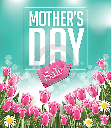 Free Mothers Day Sale Background EPS 10 Vector Stock Image - 51672711