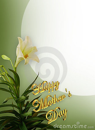 Free Mothers Day White Lilies Stock Photo - 4706130