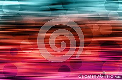 Motion blur dots