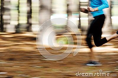Motion blur runner