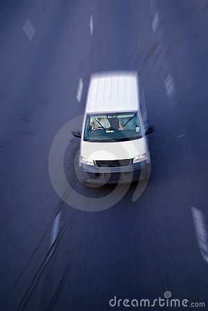 Free Motion Delivery Truck Royalty Free Stock Images - 2149699