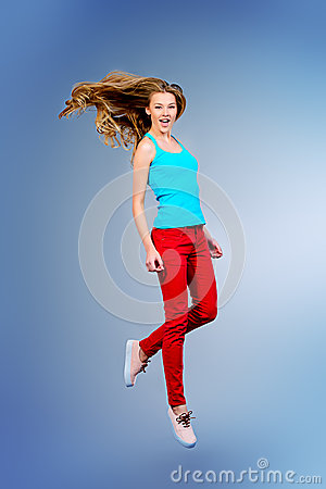 Free Motion Jump Stock Photo - 51132450