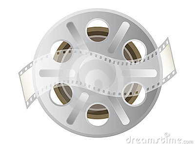 Motion picture film spool