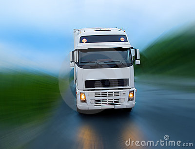 Motion of truck