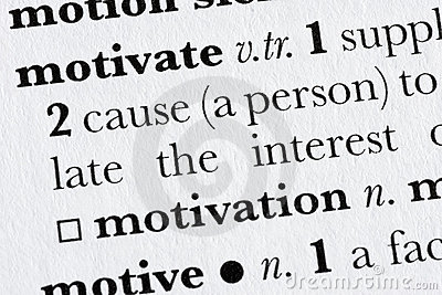 Motivate word dictionary defin