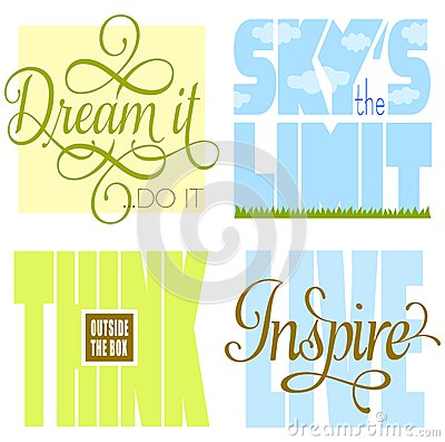 Free Motivational Sayings Stock Image - 32350471