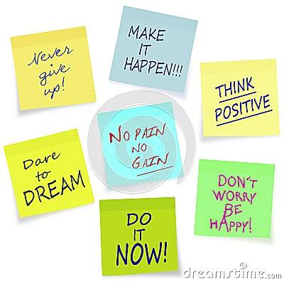 Motivational slogans - business, private, lifestyl
