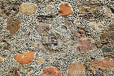 Motley stone texture
